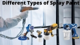 Different Types of Spray Paint
